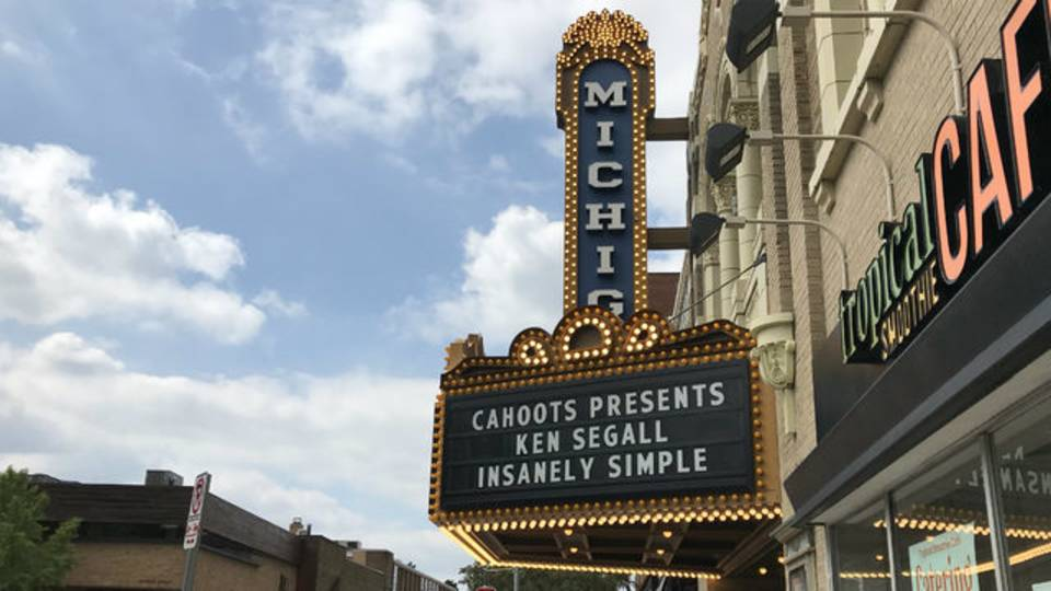 Insanely Simple Michigan Theater