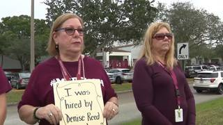 'Bring them back,' teachers demand of 4 Stoneman Douglas staffers reassigned