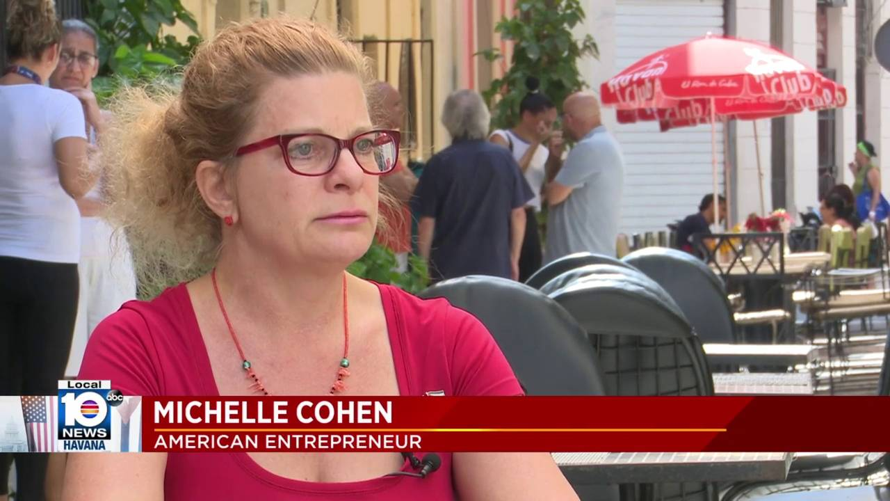 Michelle Cohen  Cuba travel