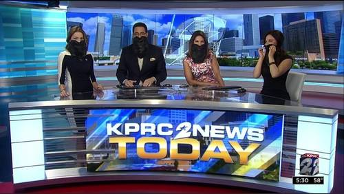 How the KPRC2 morning team celebrates Rockets Round 1 playoffs win