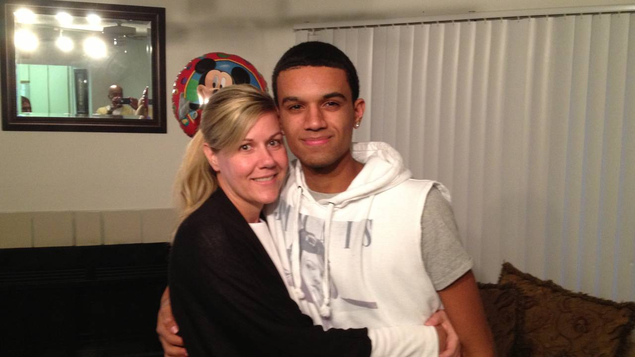 Jacob and his Mom