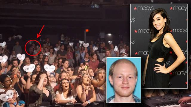 Photos show christina grimmies killer in back of concert on photos show christina grimmies killer in back of concert on night she was killed m4hsunfo
