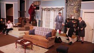 Backstage- God's Favorite @ The Sheldon Vexler Theatre
