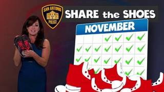 KSAT Community's 'Share the Shoes' drive runs throughout November