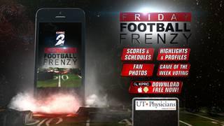 Download FREE Friday Football Frenzy high school football app