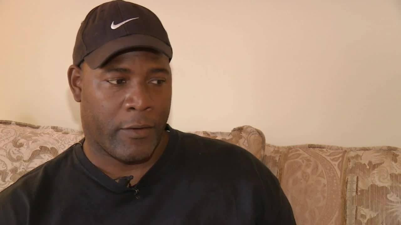Burn victim's brother Winston Smith