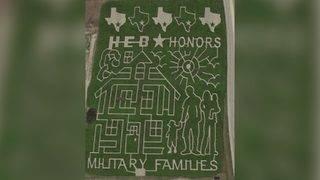 Giant Texas corn maze honors military families