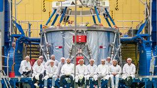 NASA accepts delivery of European powerhouse for Orion moonship