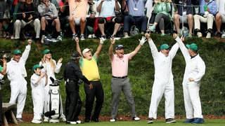 How golf legend's grandson stole Masters show