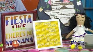 Local market offering unique handmade Fiesta finds