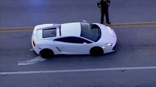 Man driving Lamborghini wounded in Oakland Park shooting