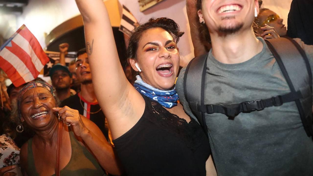 Celebration in Puerto Rico