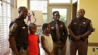 Big Brothers Big Sisters recognizes uniformed volunteers