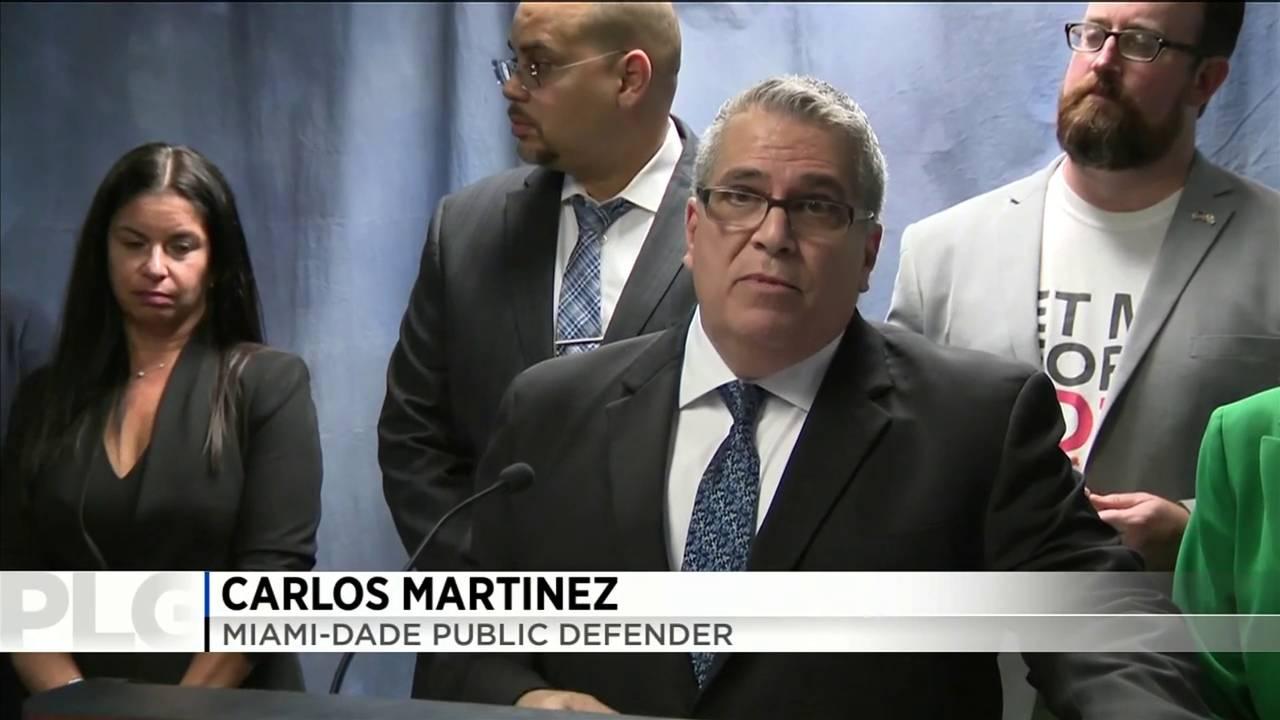 Carlos Martinez Miami Dade Public defender
