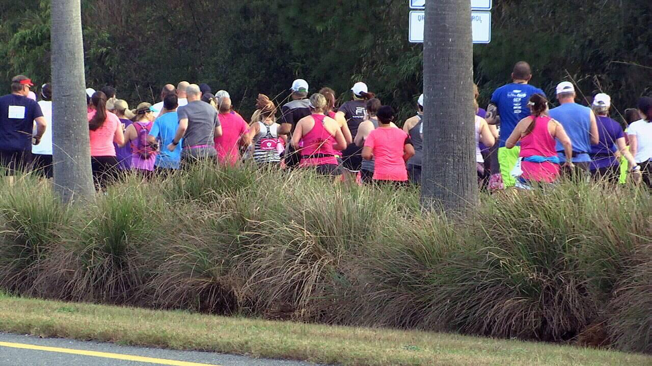 Donna Run 2018 runners