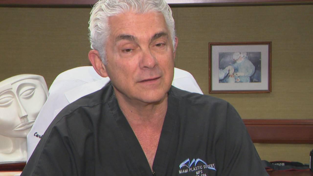 Veteran plastic surgeon says someone is impersonating him online