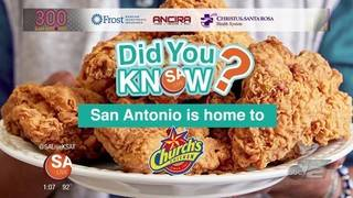 DYK: San Antonio is home to Church's Chicken?