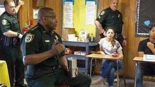 Clay County sheriff hears high school students' concerns