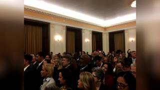 Cuban president meets with group of Cuban-American supporters