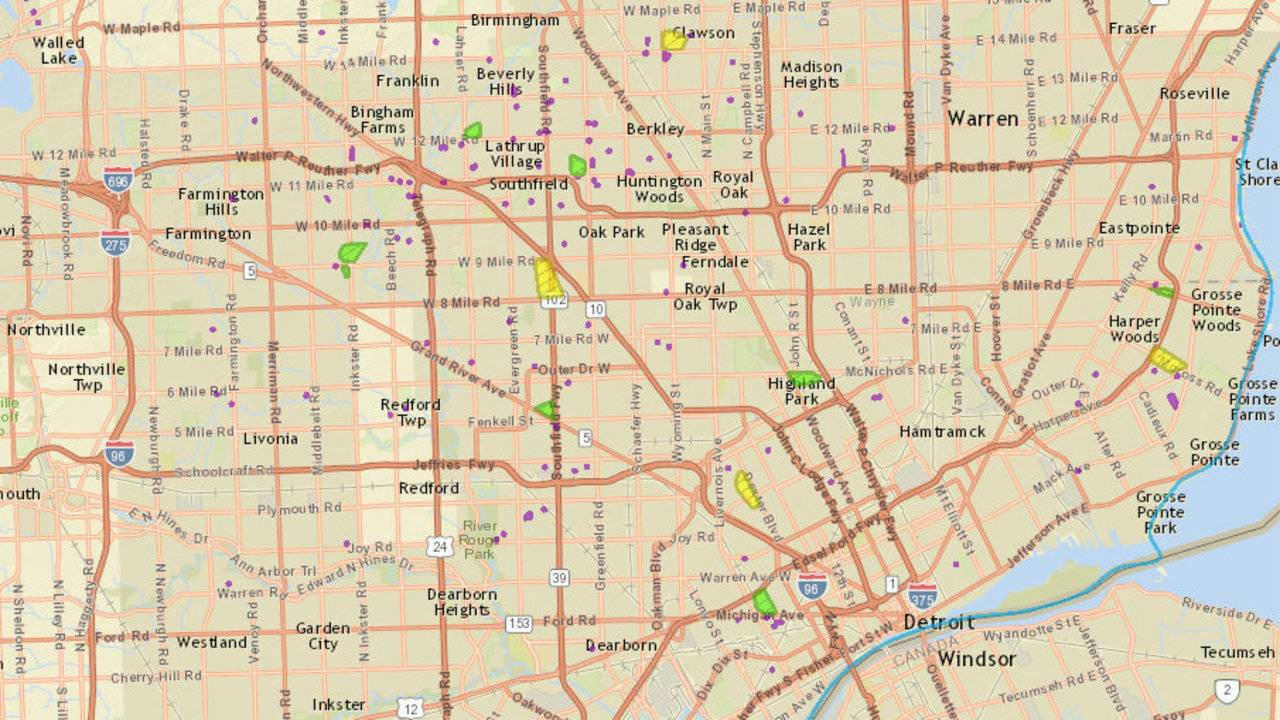 Dte Energy Power Outage Map Thousands Without Power Due To