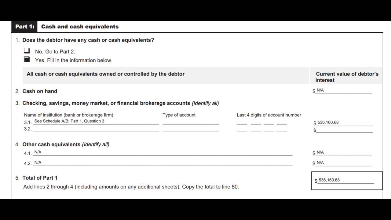 AAF bankruptcy document 2