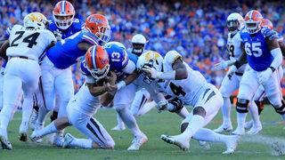 Lock burns No. 13 Florida again as Missouri wins 38-17