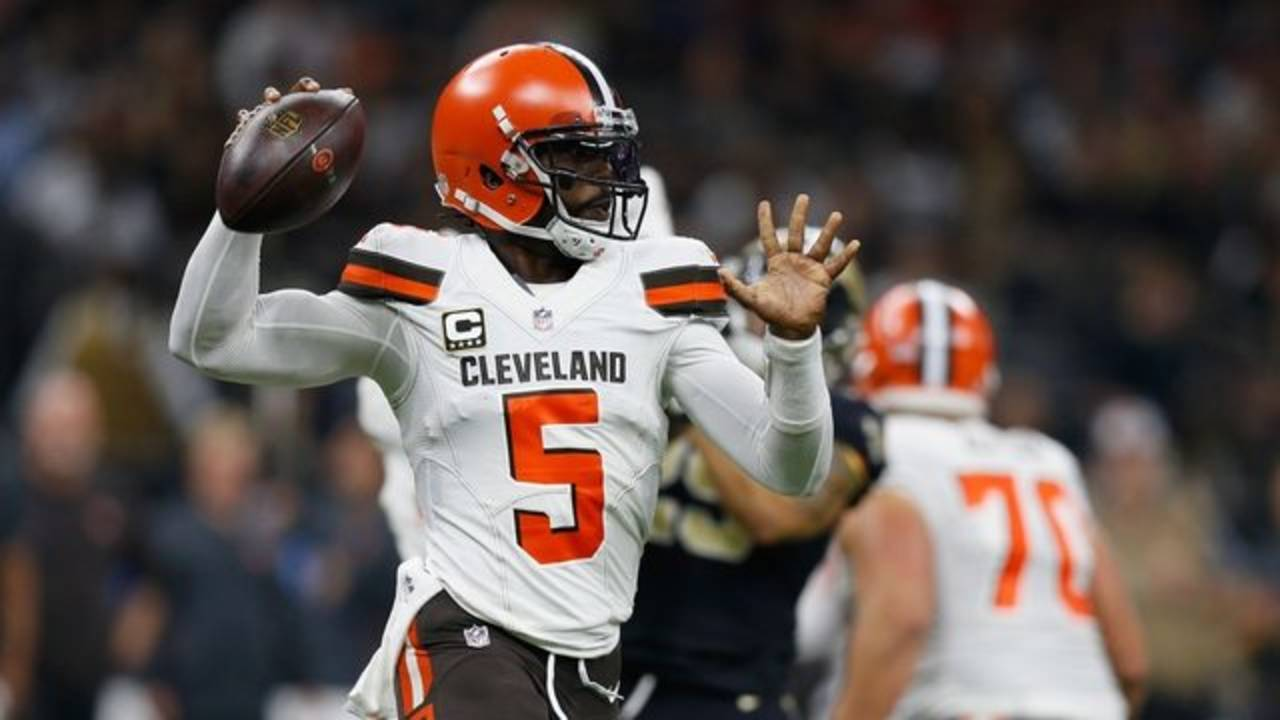 Browns Tyrod Taylor Saints getty