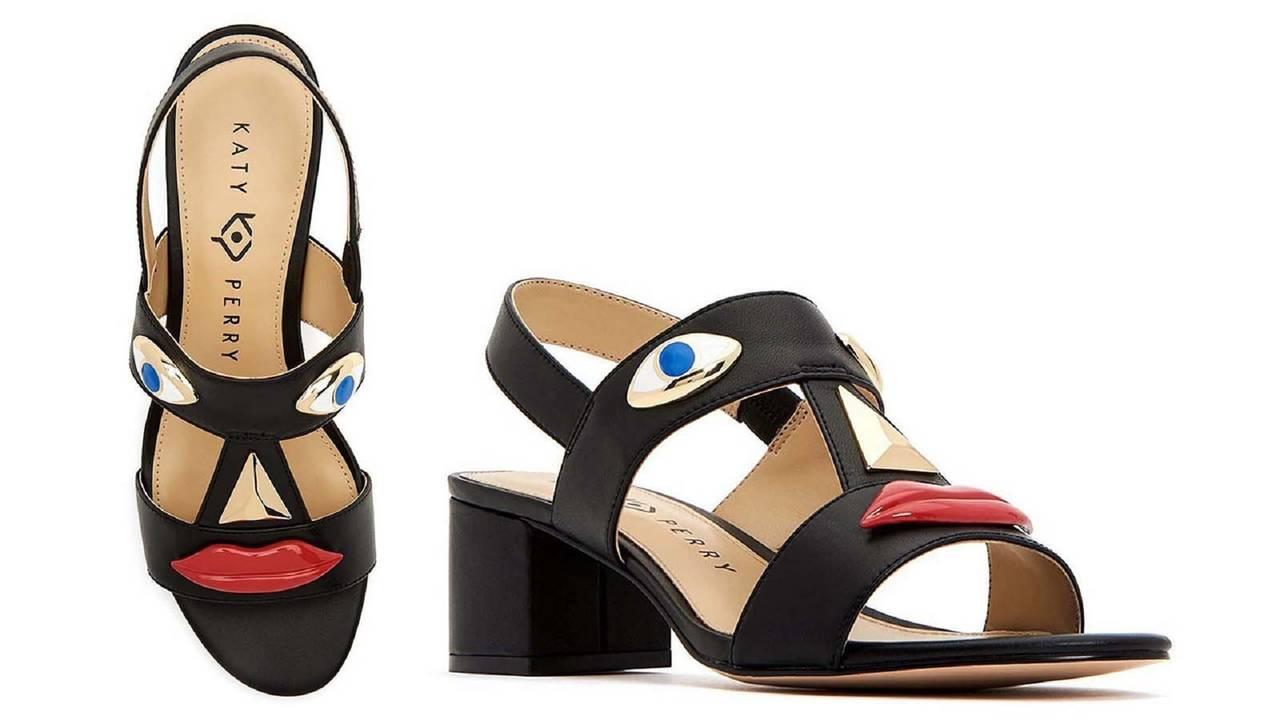 fb4f77f91fd Katy Perry faces criticism over shoe design resembling blackface