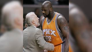 VIDEO: Shaq shares heartwarming story of Popovich's family following&hellip&#x3b;