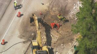 Wiles Road closed in both directions in Coral Springs due to gas main rupture
