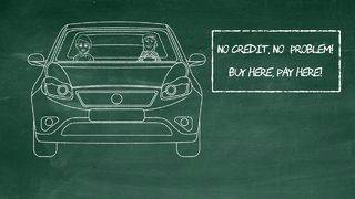 'Money: It's Personal' || No credit check auto loans