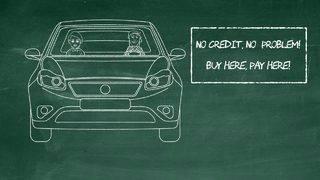 'Money: It's Personal' — No credit check auto loans