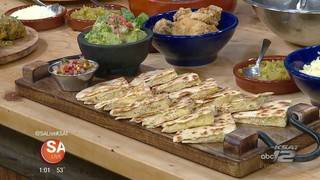 Recipes for the big game: Green chile wings & quesadillas