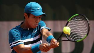 South Korean is first deaf player to win ATP Tour match