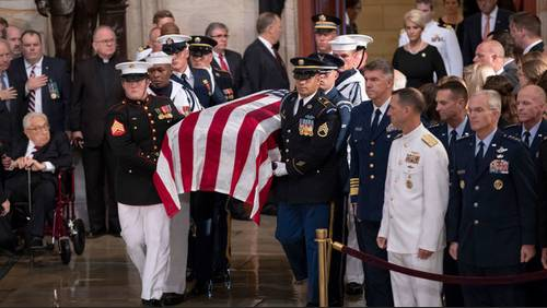Sen. John McCain to be buried at US Naval Academy