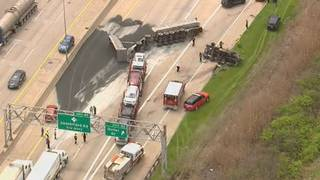 Southbound I-75 at Schaefer/Fort exit in Detroit now open