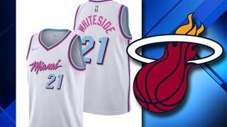 quality design e231d 3db60 Heat's new alternate jersey inspired by 'Miami Vice'