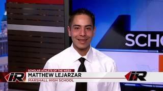 Scholar Athlete: Matthew Lejarzar, Marshall High School