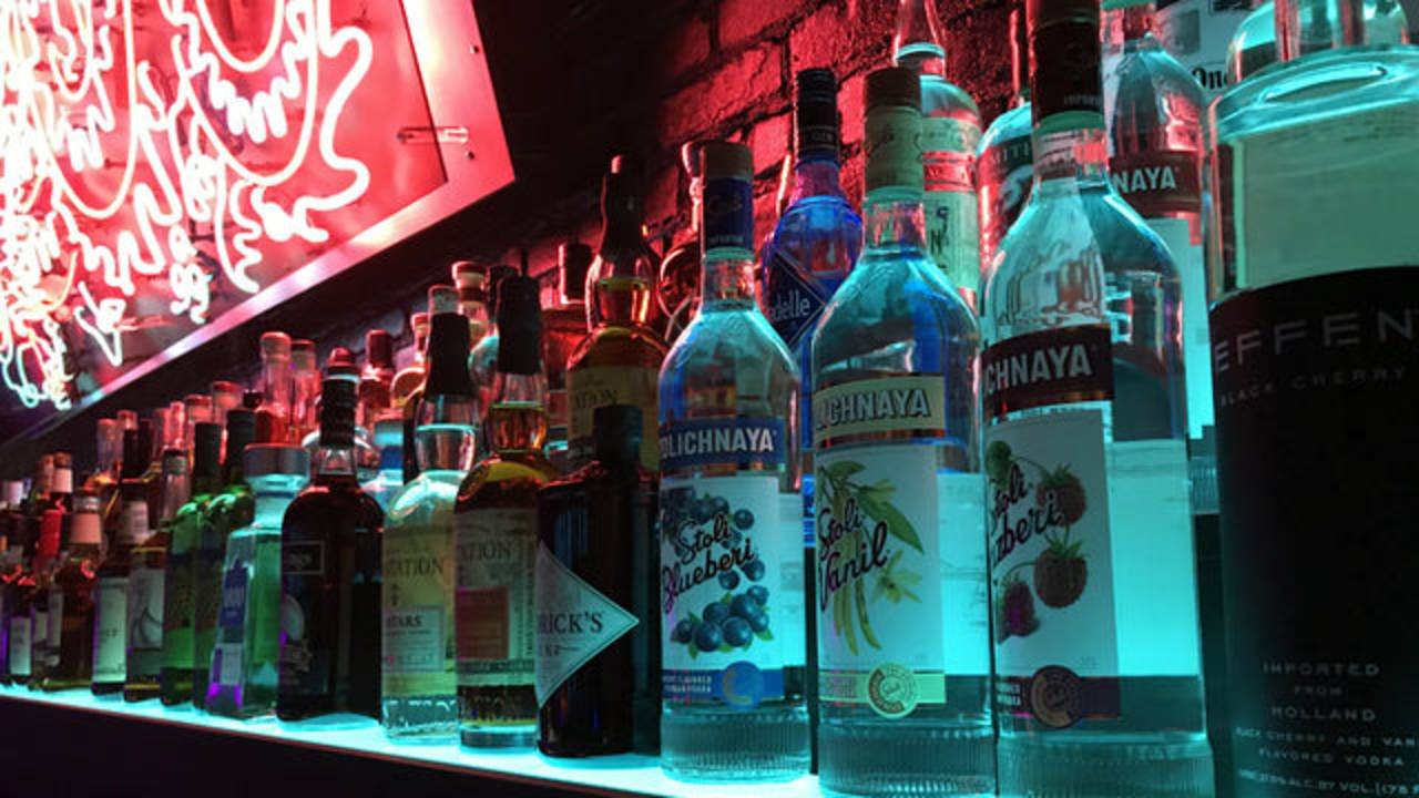 Blue Light bar Lo-Fi