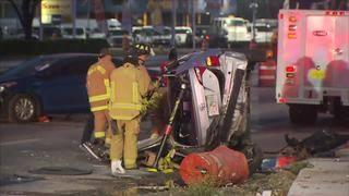 Suspected drunken driver arrested after Hollywood crash, police say