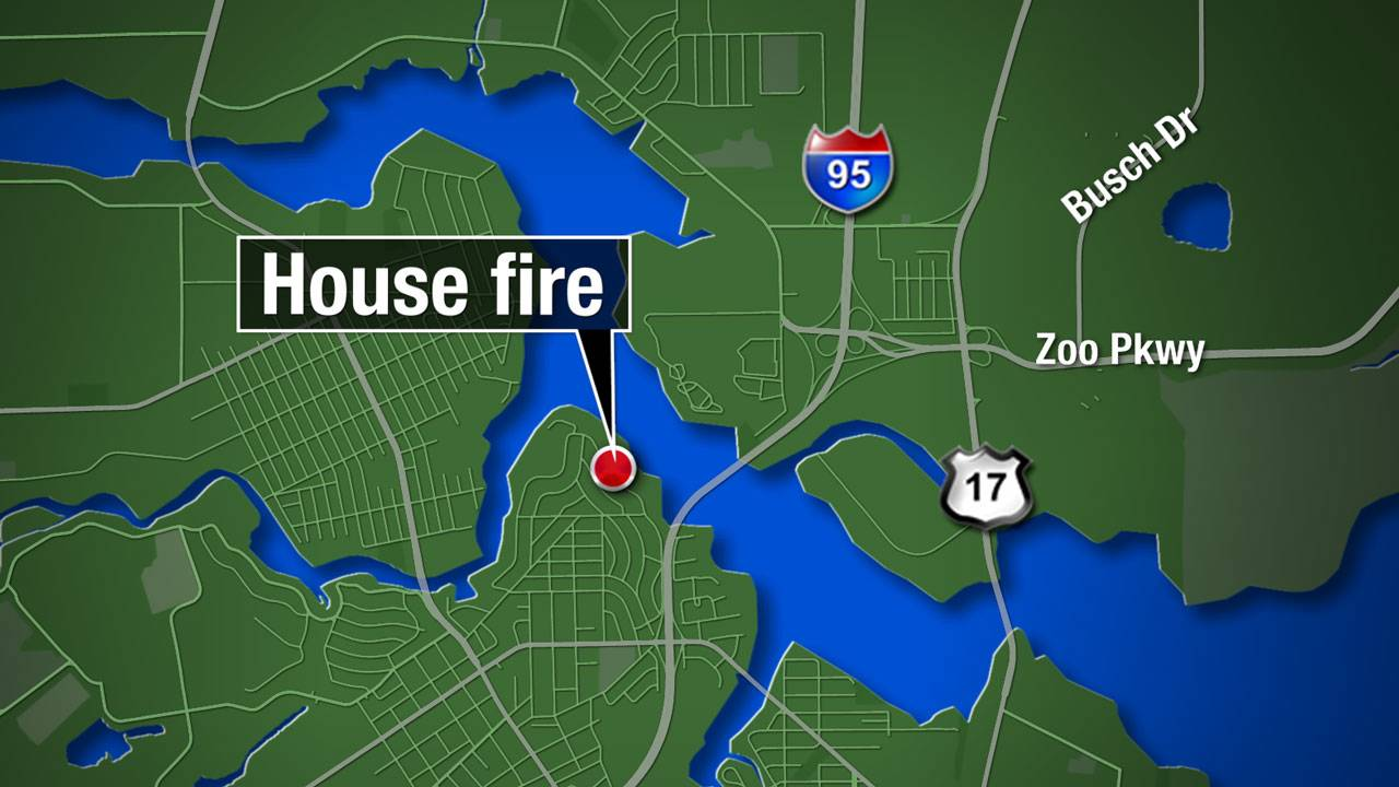 Map - Concord house fire
