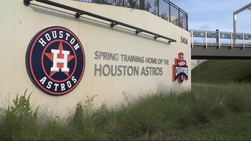 A look at Astros' 2019 spring training schedule