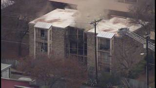 Residents forced out of their homes during fire at apartment complex&hellip&#x3b;