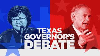 WATCH LIVE: Gov. Abbott, Lupe Valdez face off in first, only debate