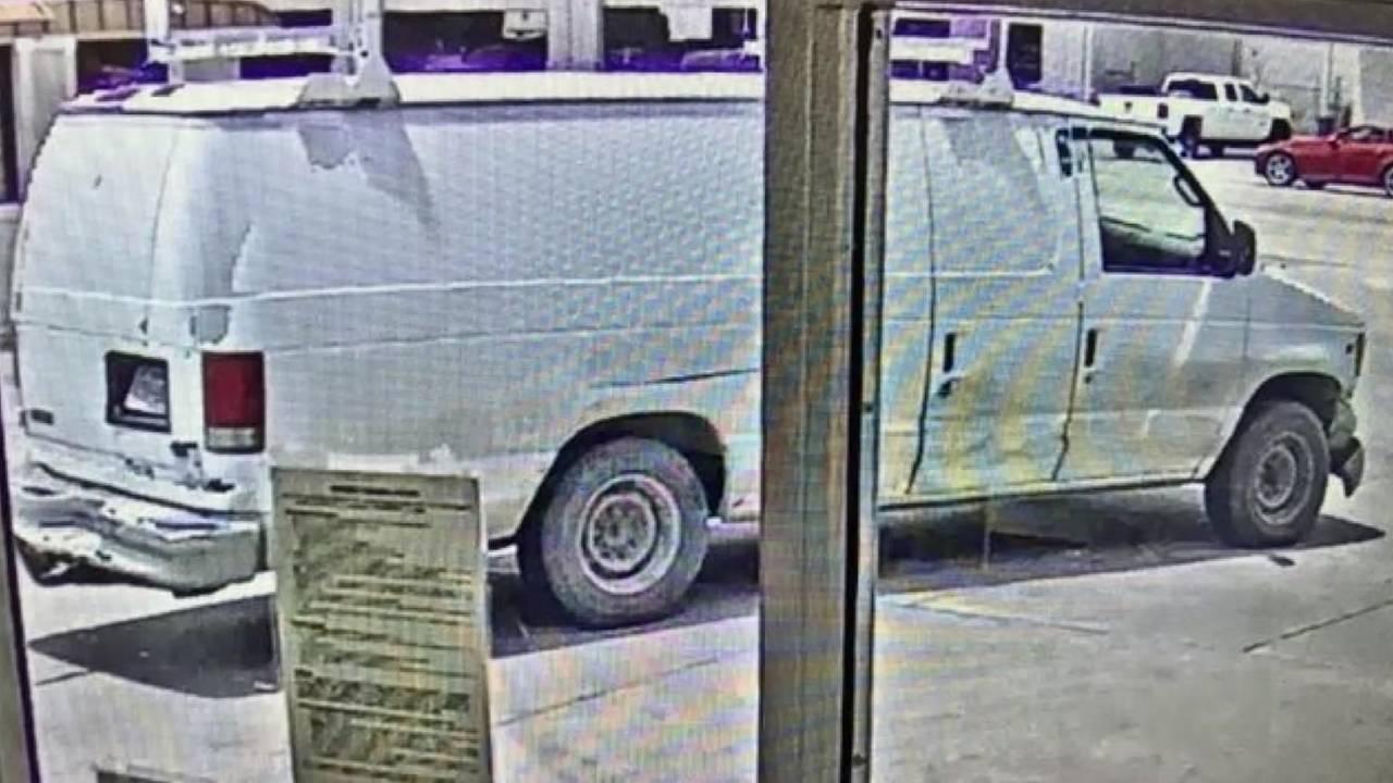 cleveland teen shooting suspect vehicle van
