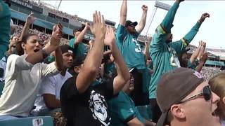 City hosts celebration ahead of Jaguars' AFC Championship game