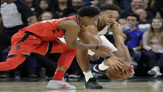 Spurs look to improve road record, head north to face Raptors on Friday