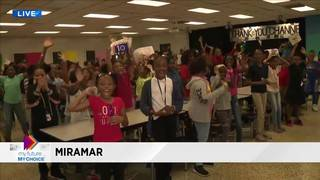 My Future My Choice distributes books at Annabel C. Perry Elementary&hellip&#x3b;