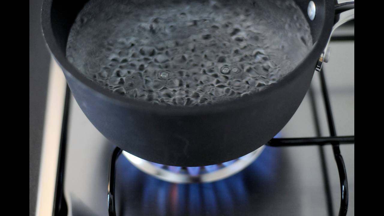Hurricane season guide boiling water