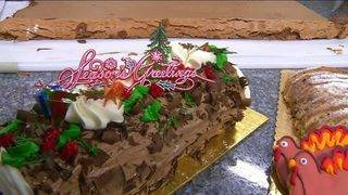 Daytime Kitchen: Yule Log & Prosciutto Wrapped Lobster